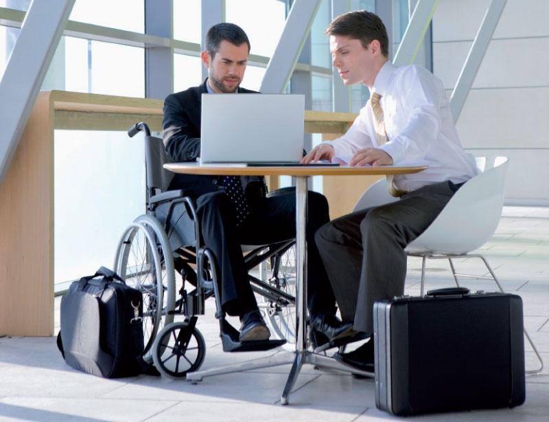 cambiar la vida de una persona con discapacidad oficina discapacitados office word programa