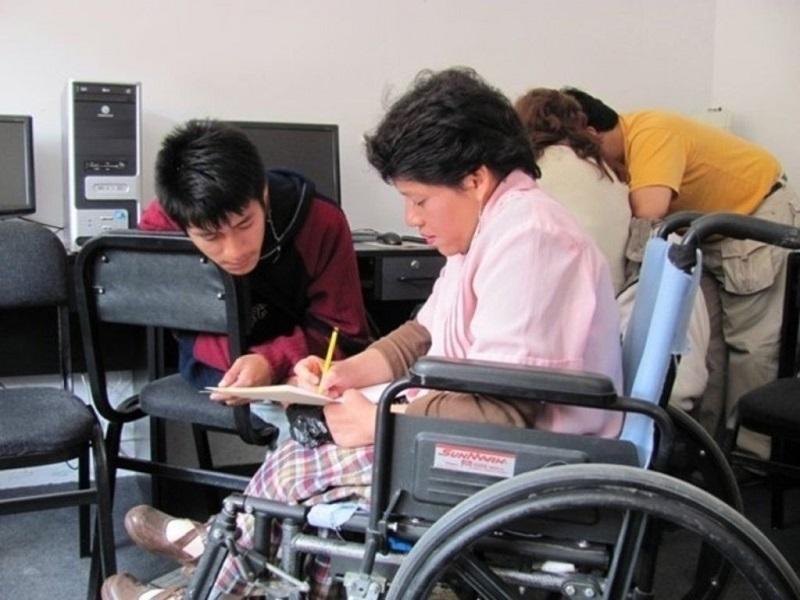 formación de personas con discapacidad discapacidades
