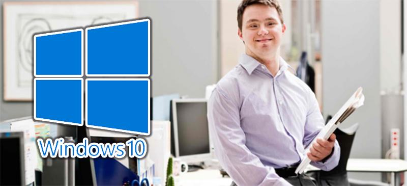 Windows 10: el OS con más beneficios para personas con discapacidad