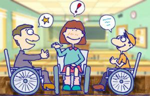 escuelas discapacidad trabajo